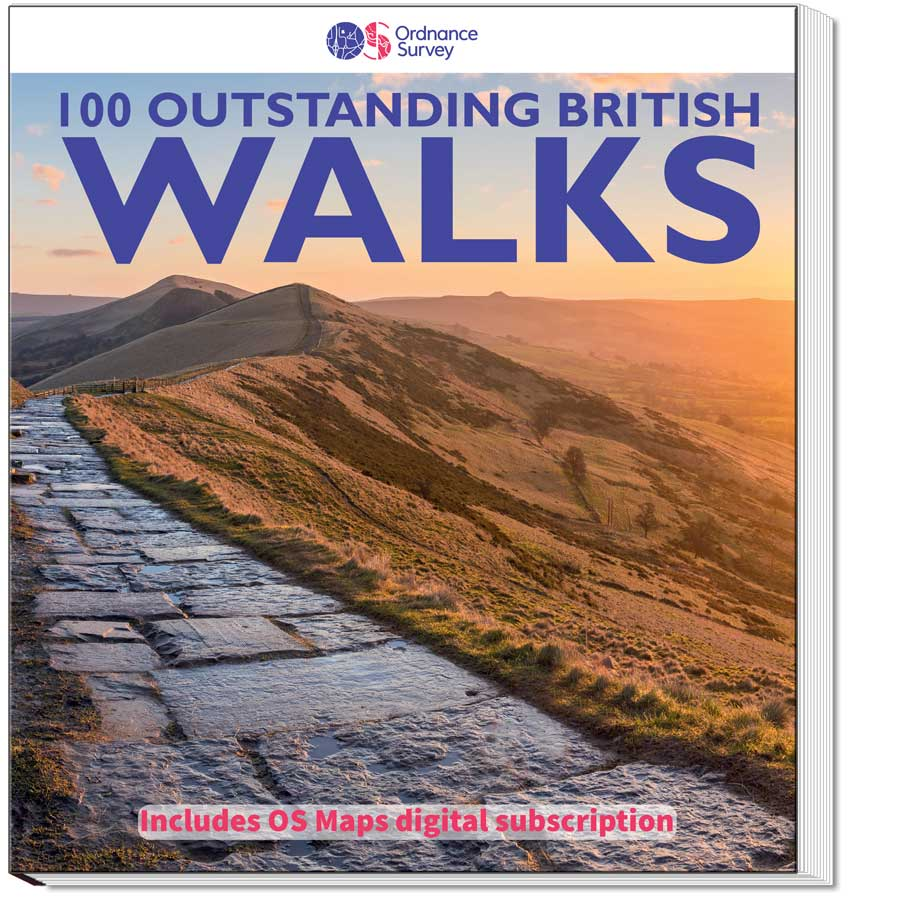 100 Outstanding British Walks Cover