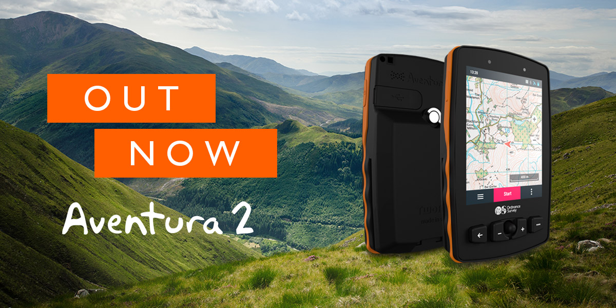 Now available: Aventura 2: hardcore handheld GPS