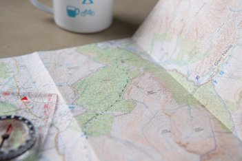 OS Explorer customised map