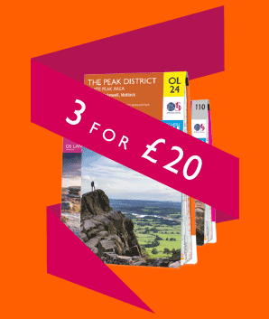 Ordnance Survey map special offer