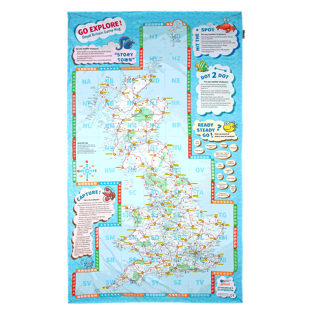 OS Map picnic blankets