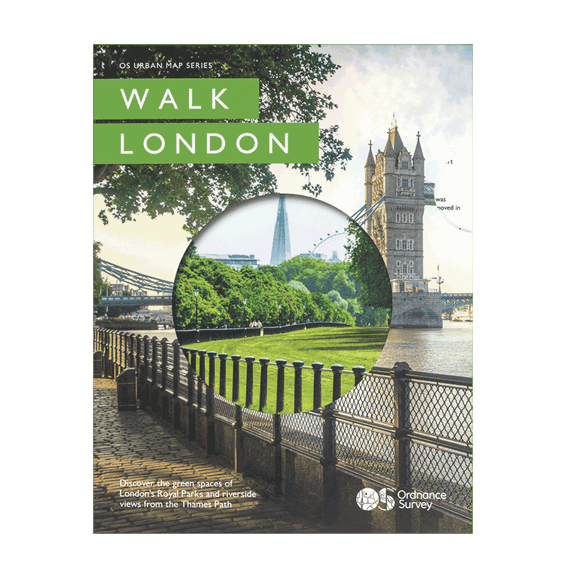OS Walk London Urban map