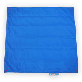 Blue Sit Mat